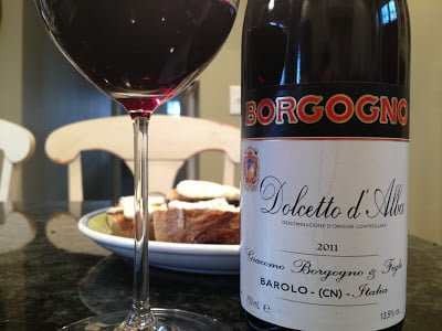 Dolcetto in bottle