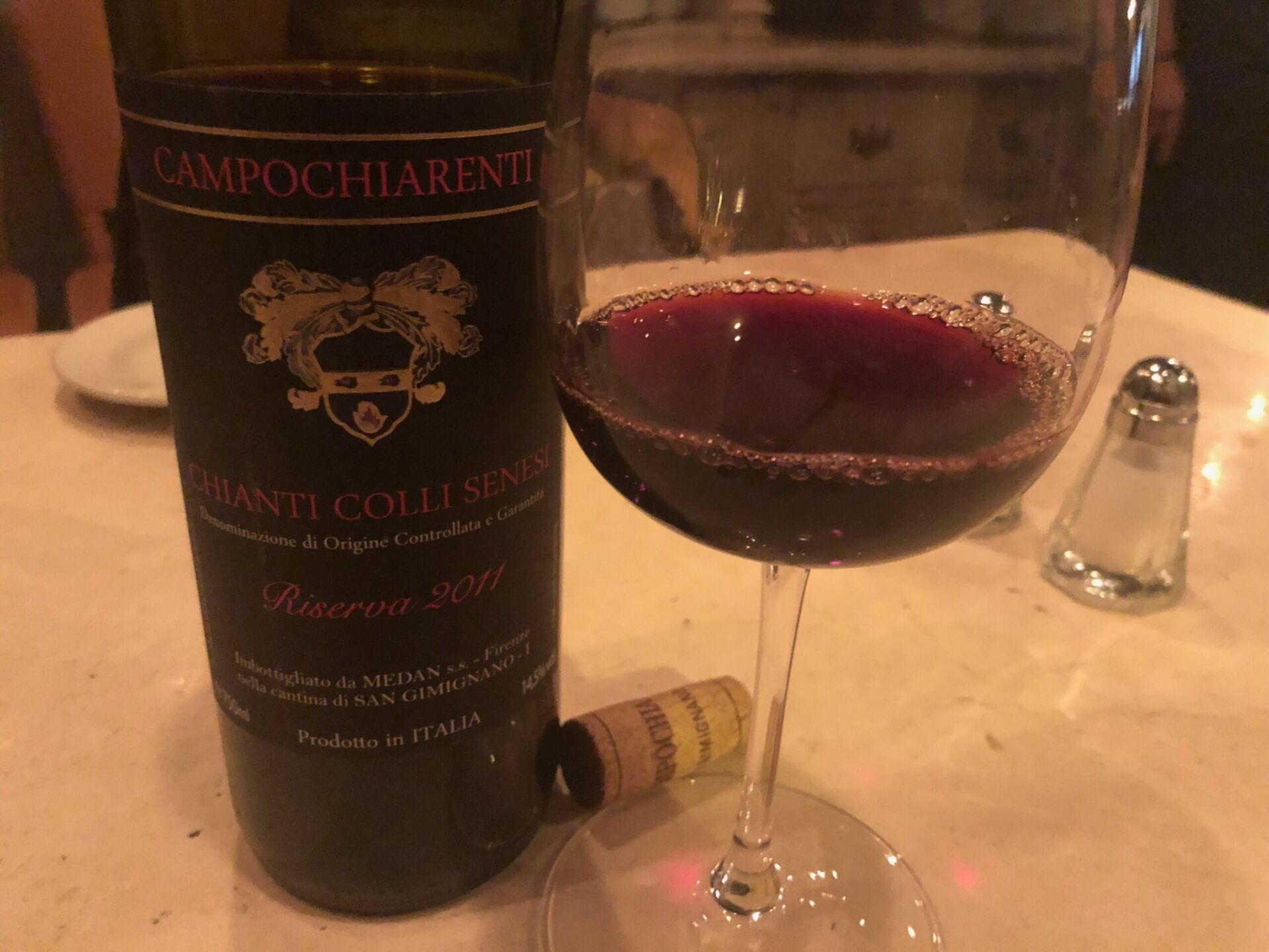 Wine Review Chianti Riserva