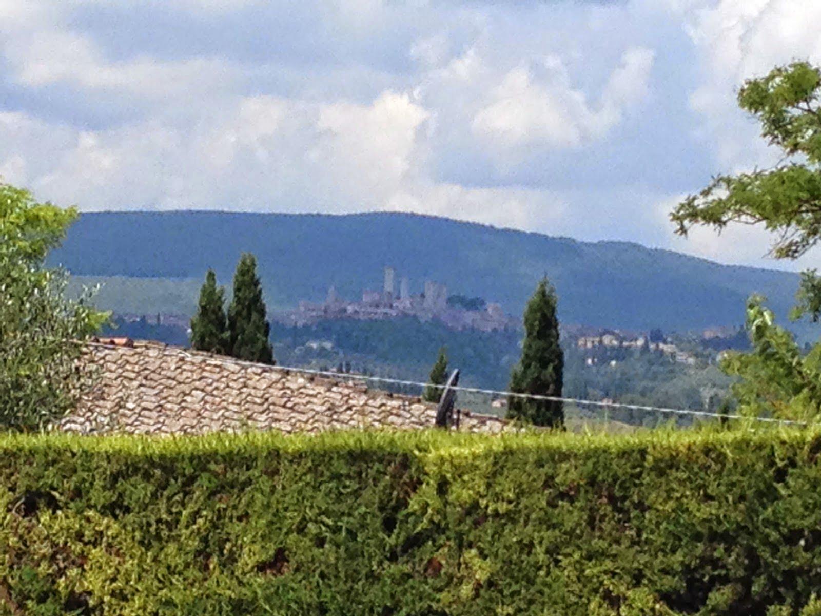 Tuscan Snips San Gimignano