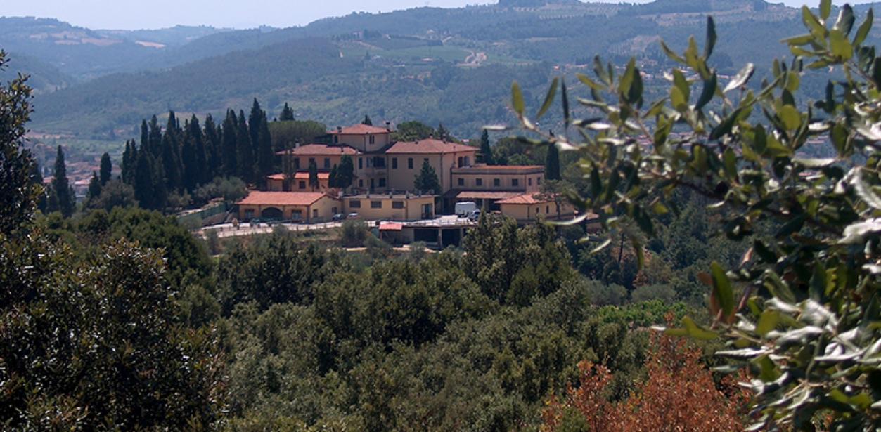 Italian winery scene