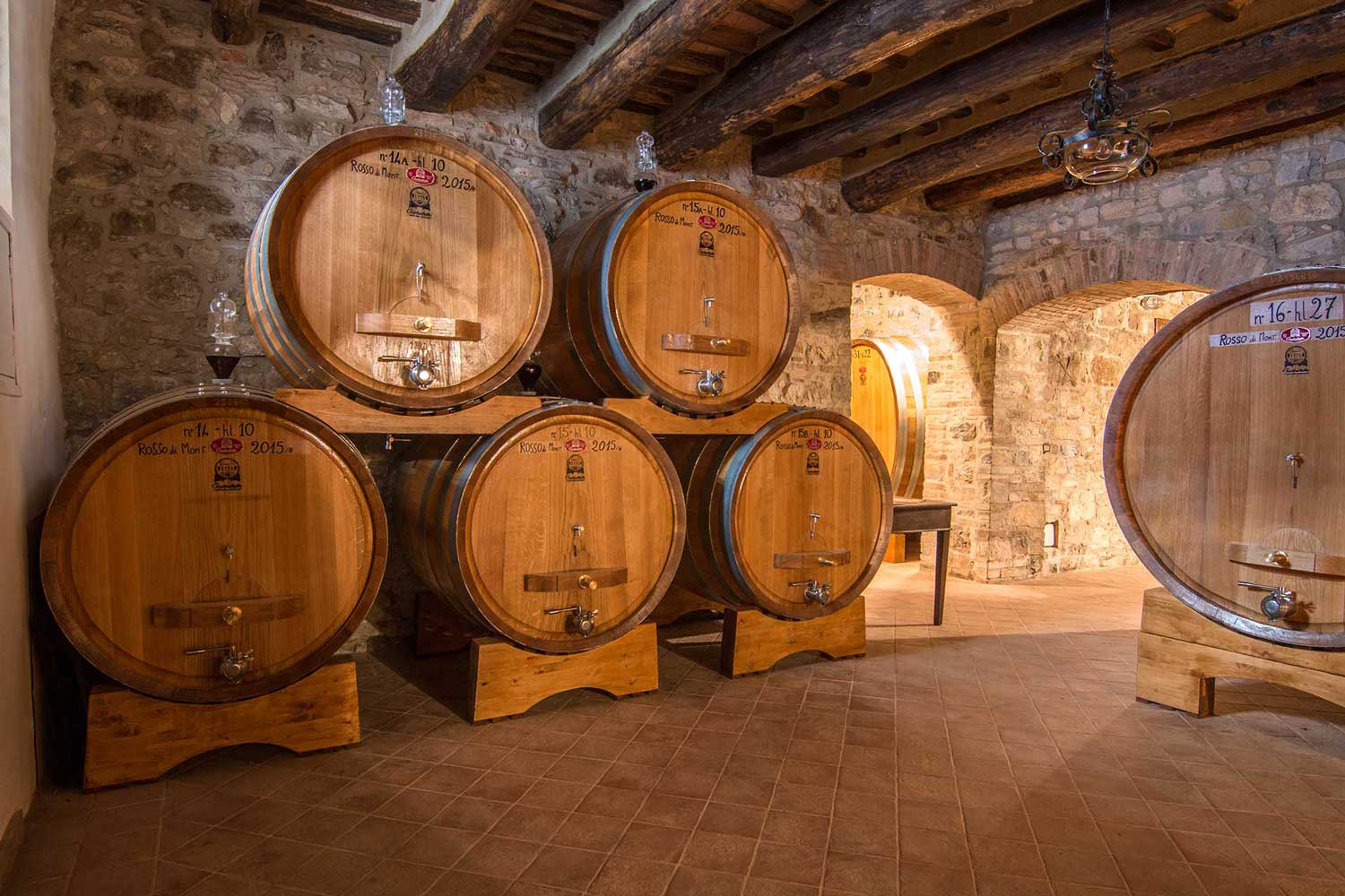 Capanna Brunello Barrels