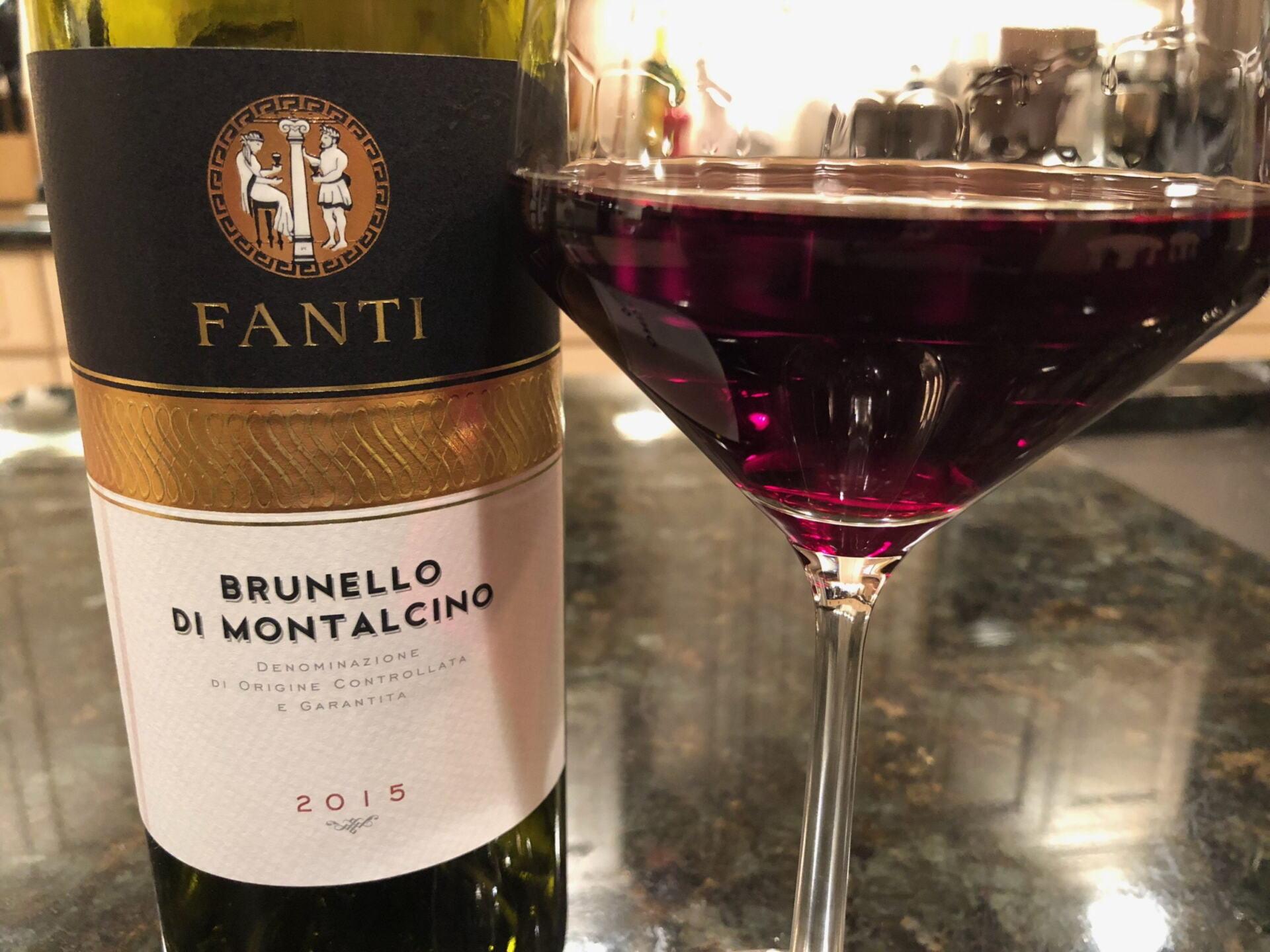 Fanti Brunello in glass