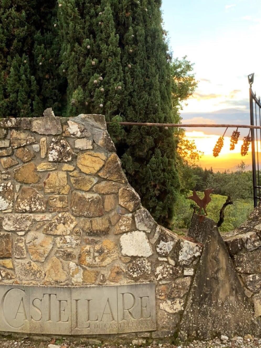 Castellare Entrance