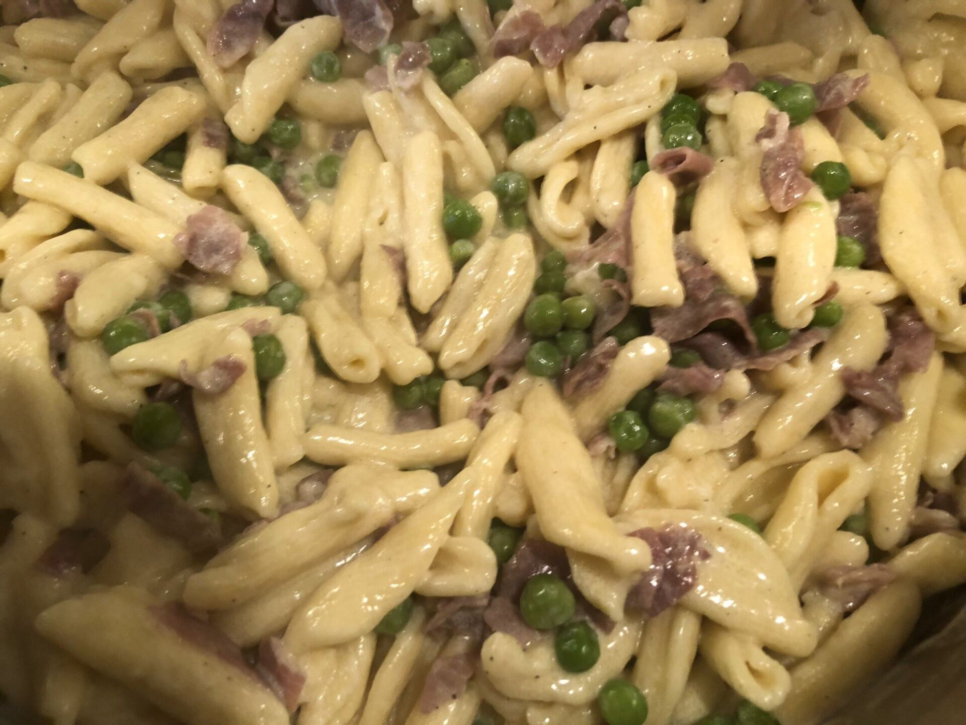 Cavatelli with Cream and truffles