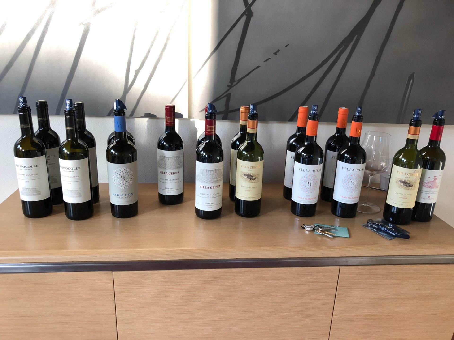 Cecchi Wine Bottles