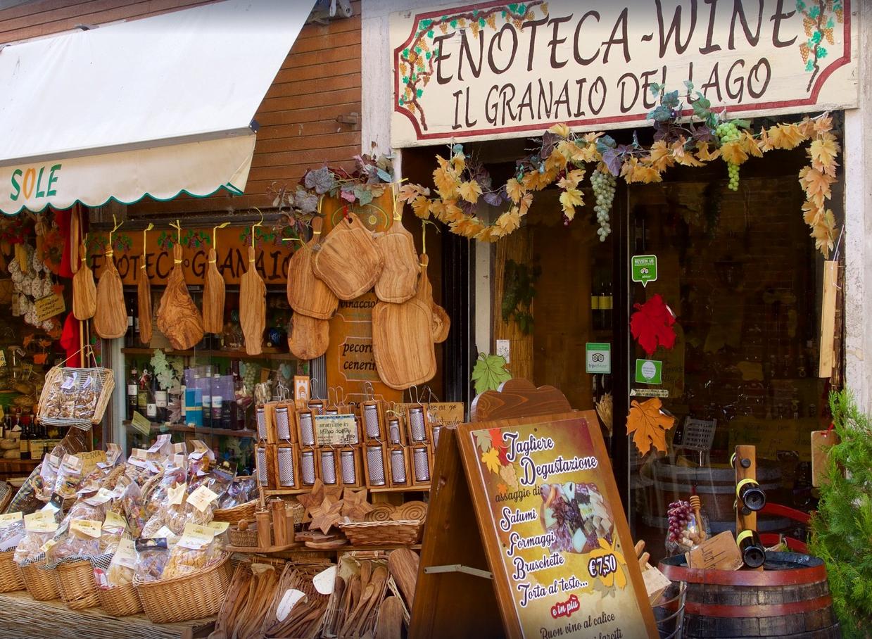 Madrevite at the Enoteca in Umbria