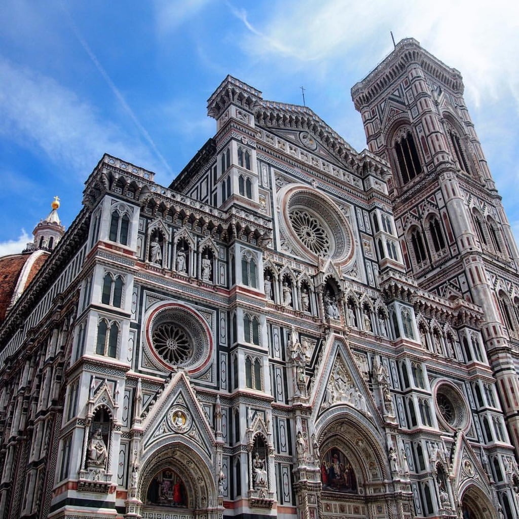The cathedral in Florence Italy