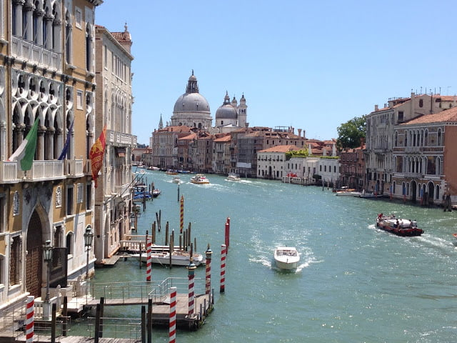 Italy - the Grand Canal in Venice