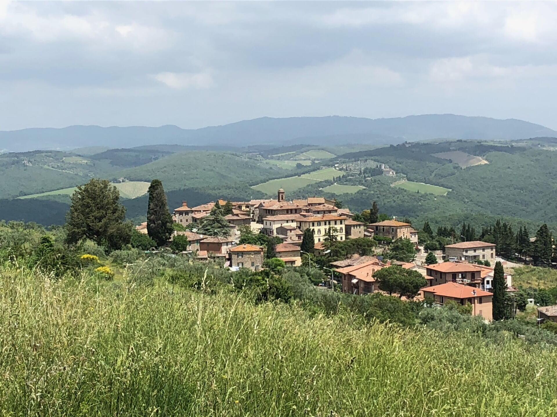 The Italian town of Vagliagli is home to Fattoria Aiola
