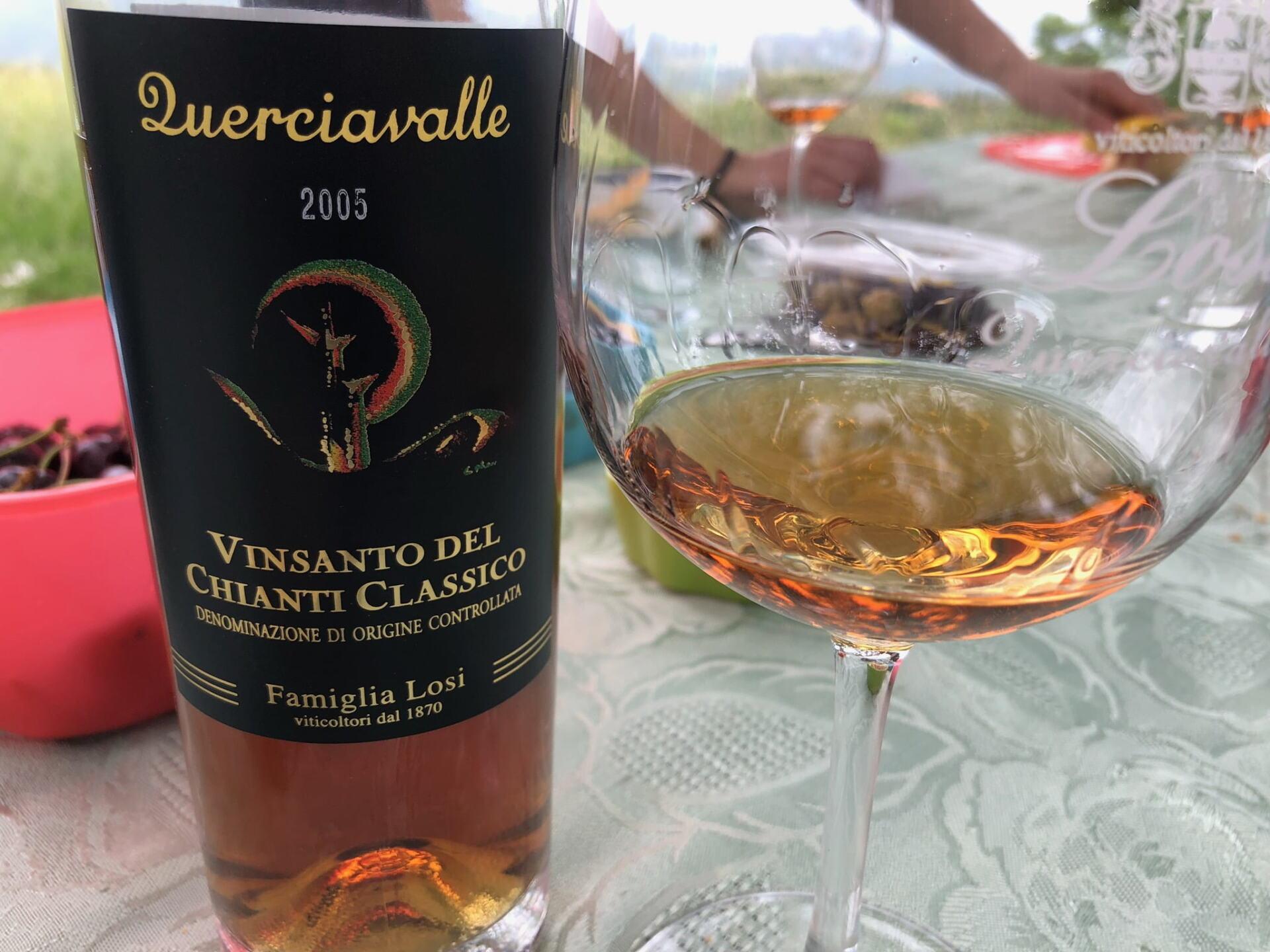 Vin Santo wine