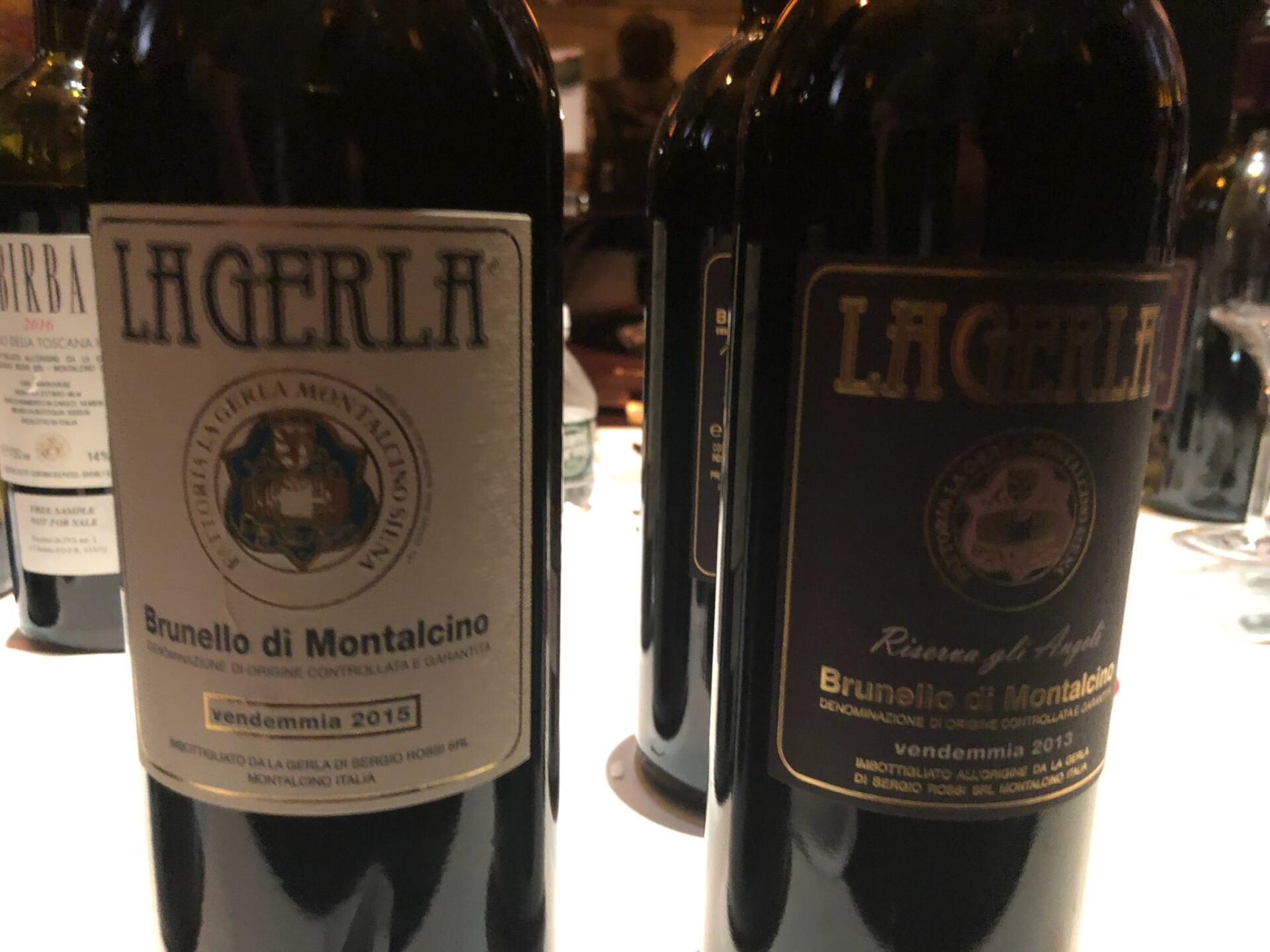 La Gerla Brunello Bottles