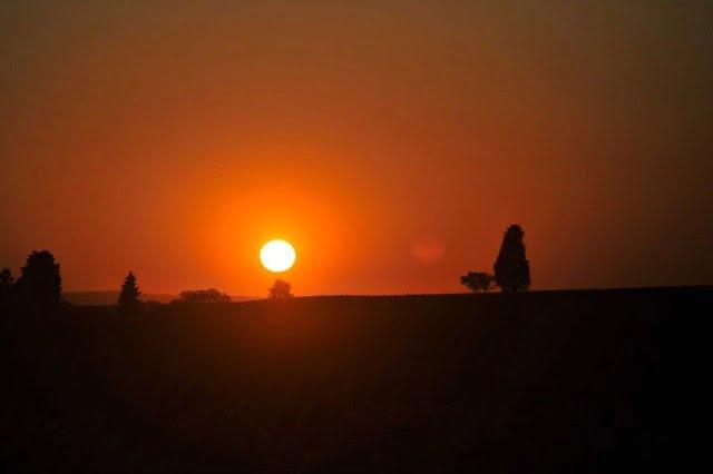 Fattoria Lornano sunset