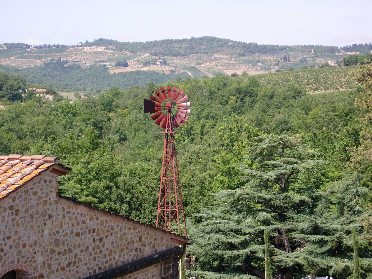 Red Wind Mill