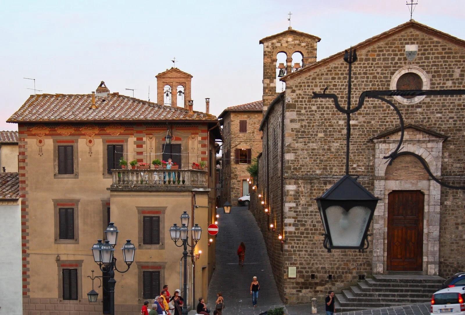 Brunello Buildings in Montalcino