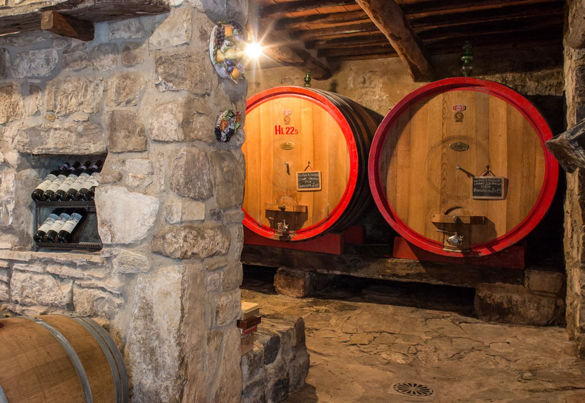 Monteraponi Cellar