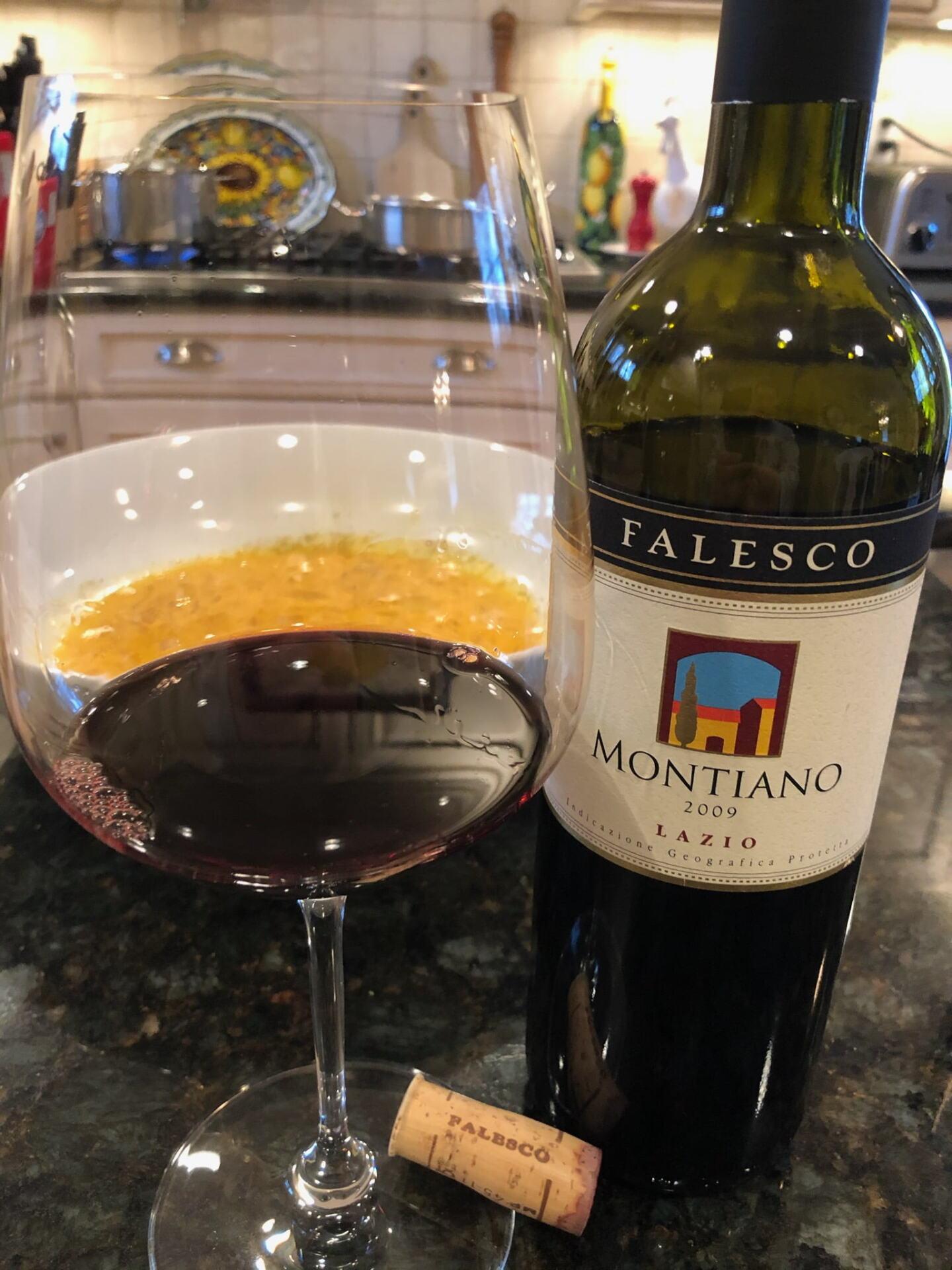 Bottle of Montiano Merlot