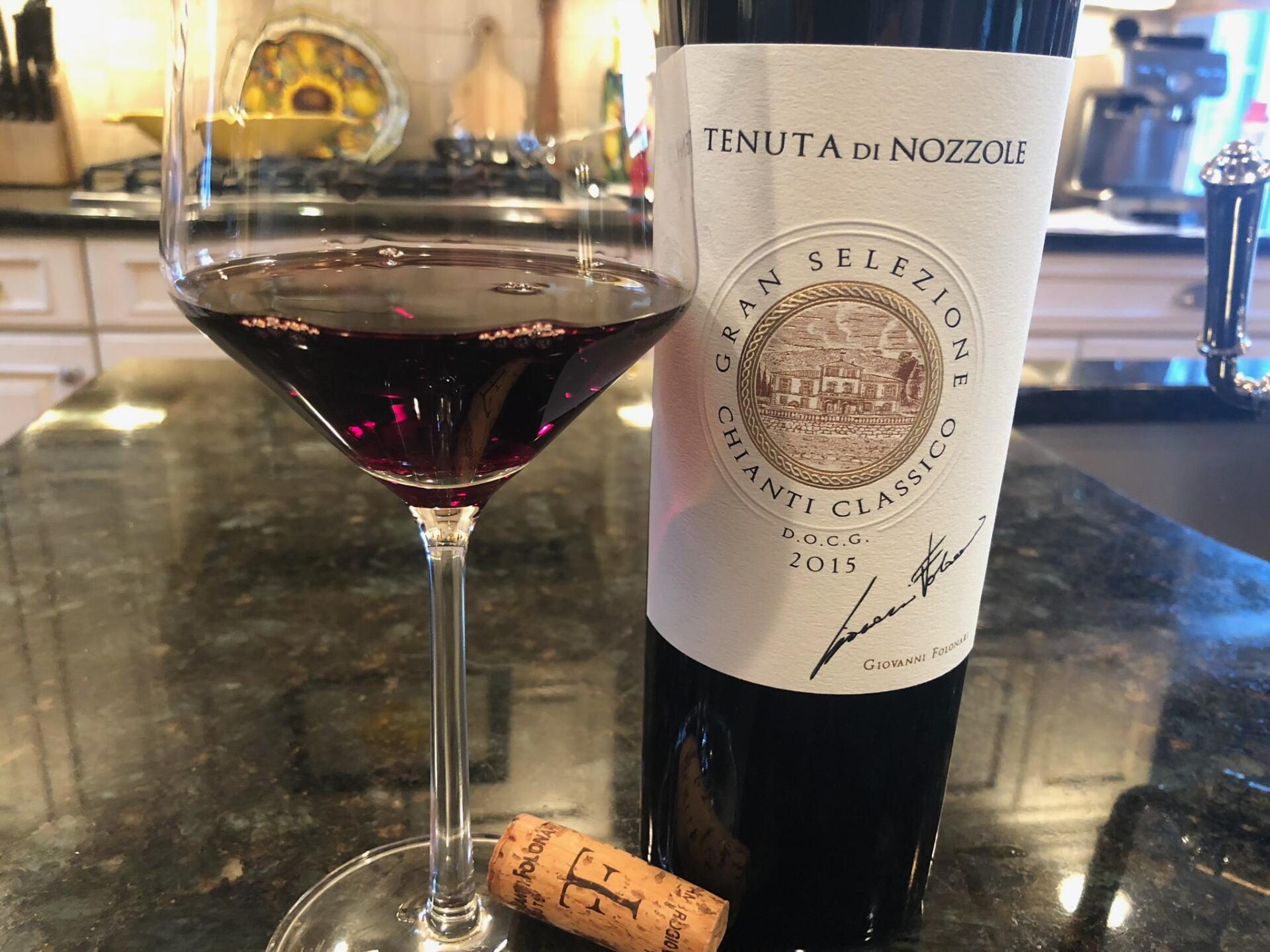 Tenuta di Nozzole bottle of wine