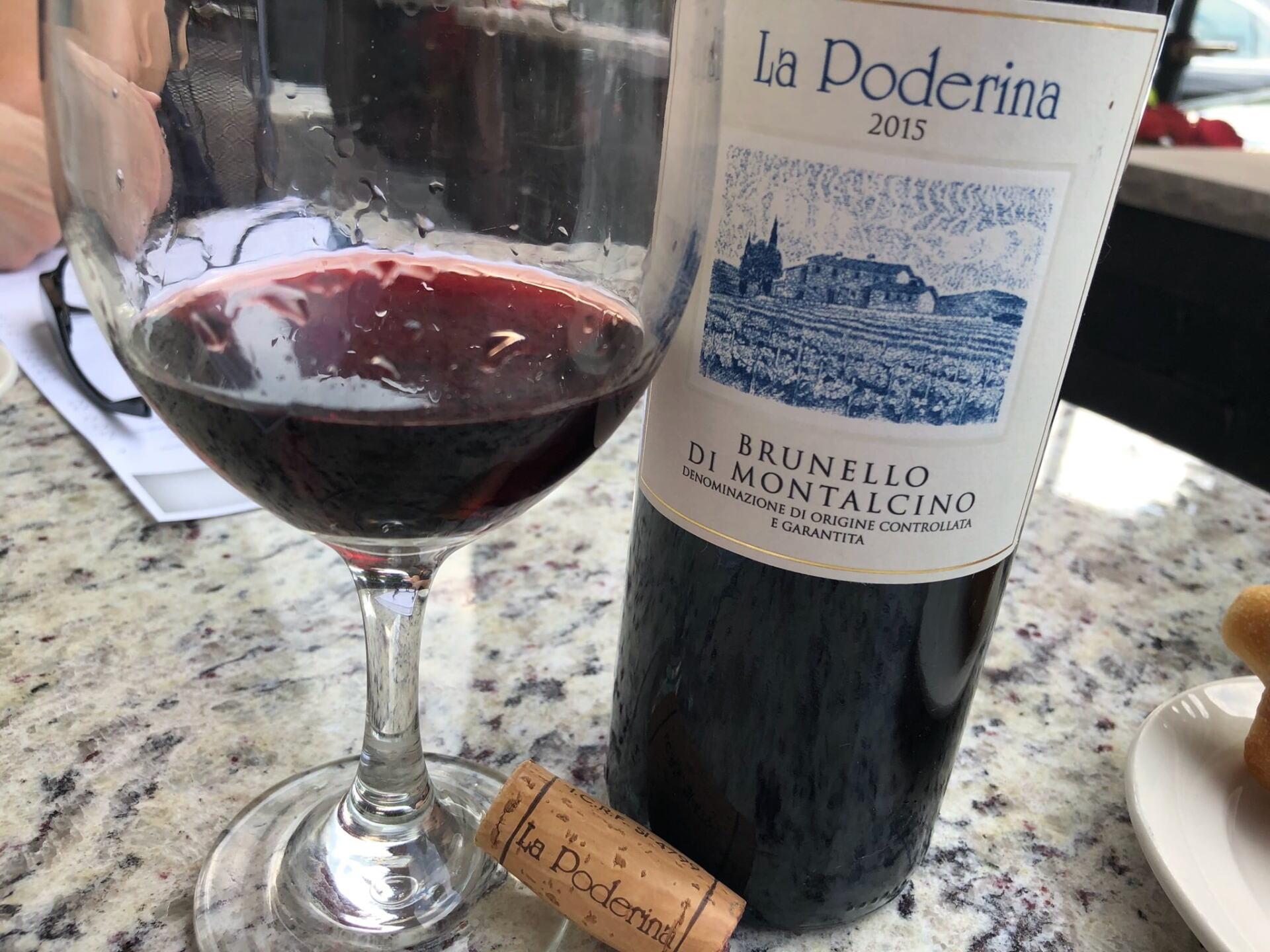 La Poderina Brunello Wine
