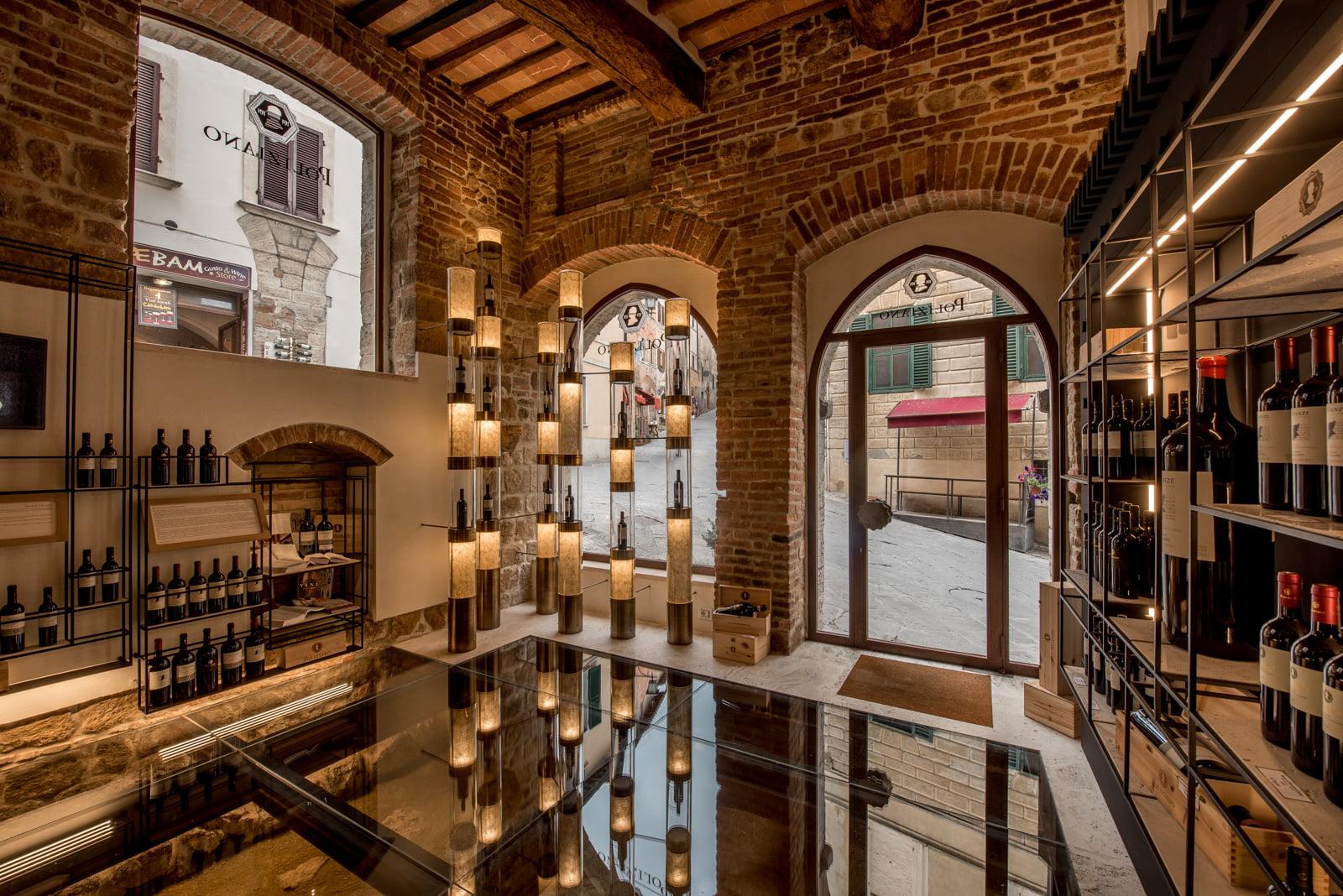Brick wine Store