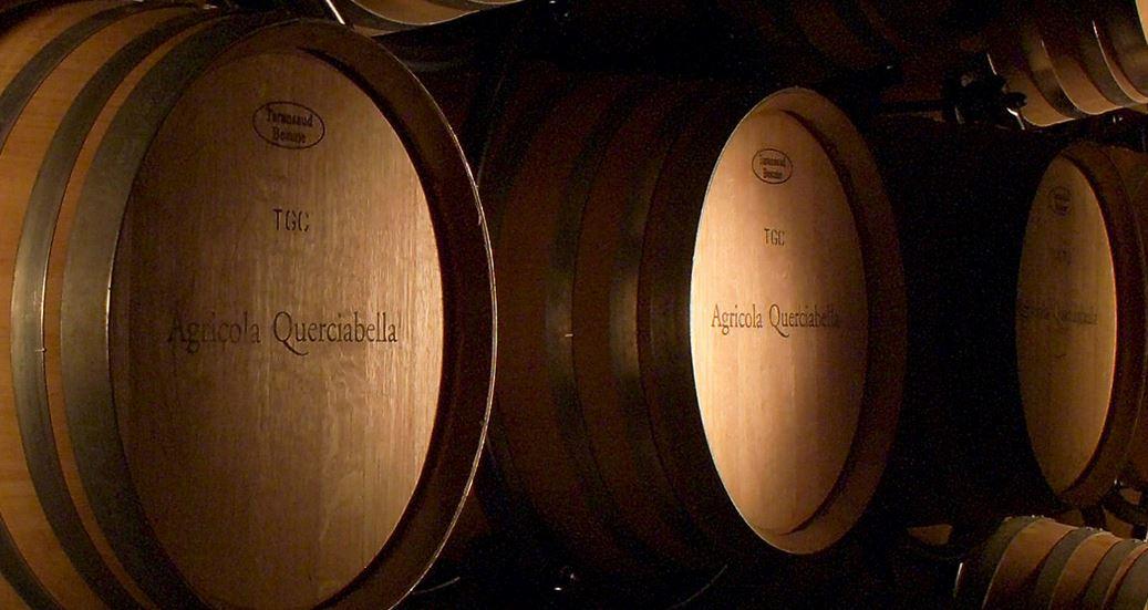 Querciabella barrels