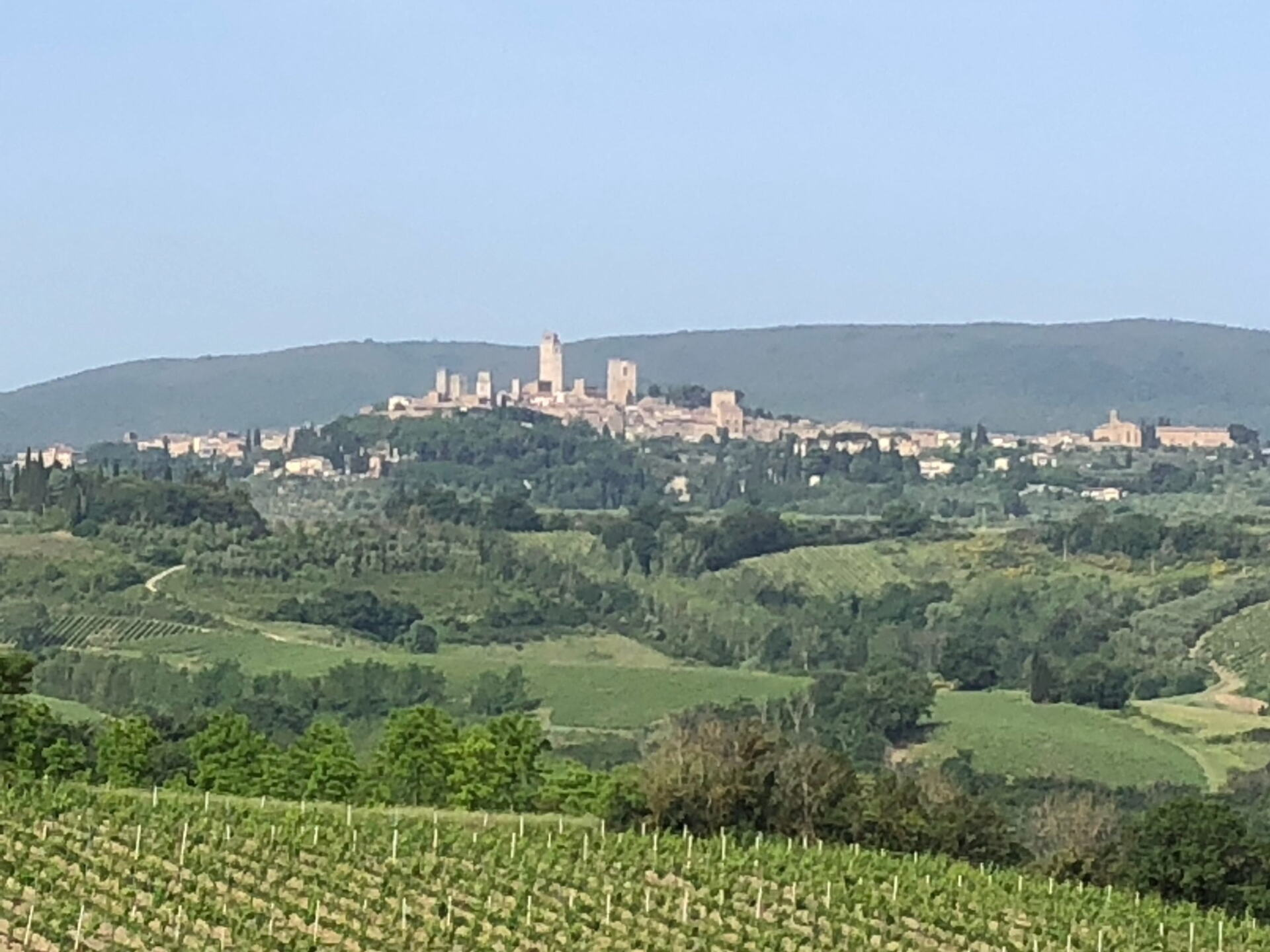 The village of San Gimignano
