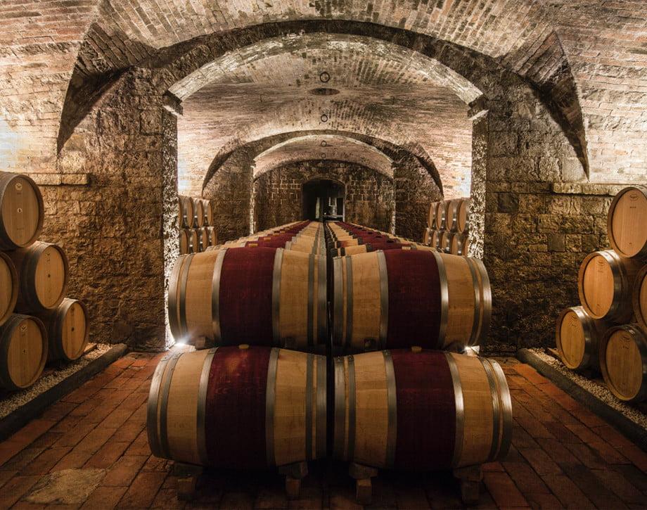 Solaia aging cellar