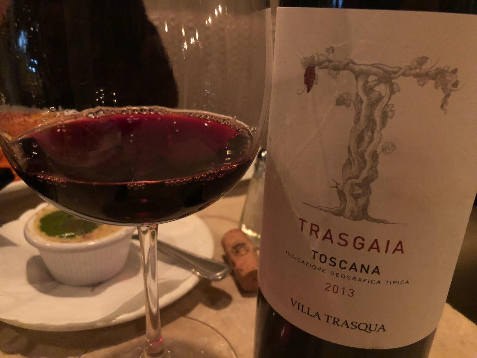 Villa Trasqua wine