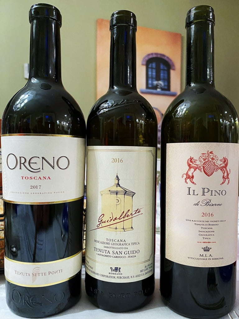 Tuscan Vines Open House Cabernet wines